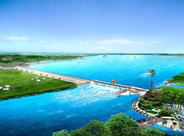 沂河砂堤截渗工程